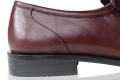 Chaussure en cuir Photos libres de droits