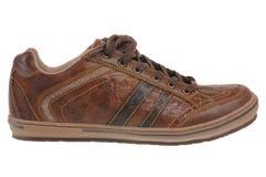 Chaussure en cuir de Brown Images libres de droits