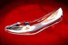 Chaussure en verre Image stock
