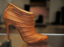 Chaussure femelle dernier cri Image libre de droits