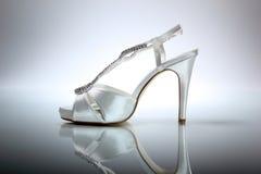 Chaussure élégante de mariage Photos libres de droits
