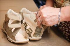 Chaussure maiking Images libres de droits