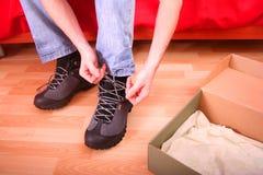 Chaussure neuve Photo stock