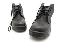 Chaussure noire Images libres de droits