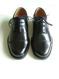 Chaussure noire Image stock