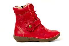 Chaussure rouge Photographie stock libre de droits