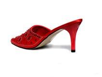 chaussure rouge Photos libres de droits