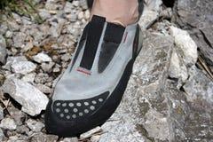 Chaussure s'élevante Photographie stock libre de droits