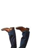 Chaussures à l'envers Images libres de droits