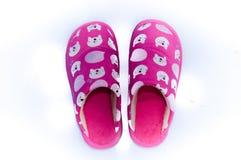 Chaussures à la maison confortables Image libre de droits