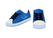 Chaussures à la mode élégantes lumineuses de la jeunesse pour le fonctionnement et l'exercice Images libres de droits