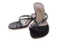 Chaussures élégantes de dames Photographie stock libre de droits