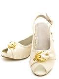 Chaussures élégantes de fille Image libre de droits