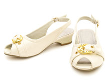 Chaussures élégantes de fille Images libres de droits