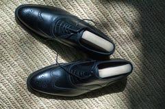 Chaussures élégantes du ` s d'homme Photo libre de droits