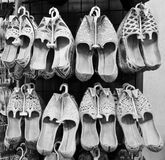 Chaussures Arabes traditionnelles Photo stock