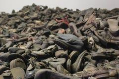 Chaussures Austwitz photos libres de droits