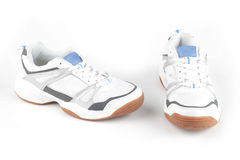 Chaussures blanches de sport Image stock