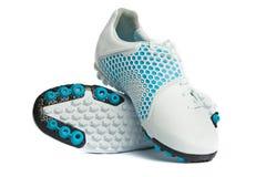Chaussures blanches de sports. Photos libres de droits