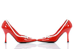 Chaussures brillantes Photos libres de droits
