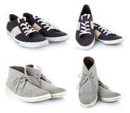 Chaussures classiques d'espadrilles Image libre de droits