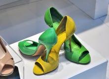 Chaussures colorées Photo libre de droits