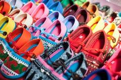 Chaussures colorées Image libre de droits