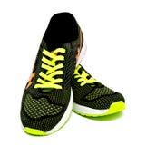 Chaussures courantes de sport d'isolement sur un blanc Photographie stock