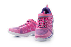 Chaussures courtes roses Image stock
