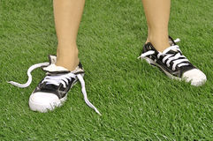 Chaussures déliées Photos libres de droits