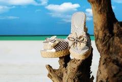 Chaussures d'été Photographie stock