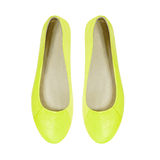 Chaussures d'été d'isolement sur le blanc Photo stock