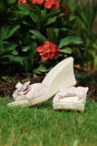 Chaussures d'été de dames Images stock