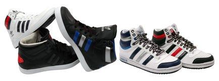 Chaussures d'Adidas Photos libres de droits
