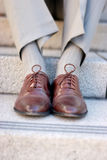 Chaussures d'affaires Image stock