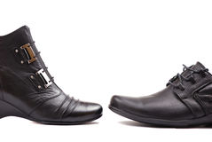 chaussures d'affaires Photo stock
