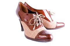 Chaussures d'affaires de Womans Image stock