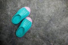Chaussures d'enfant Photos libres de droits