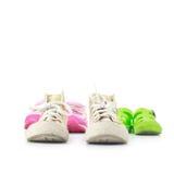 Chaussures d'enfant Photo stock