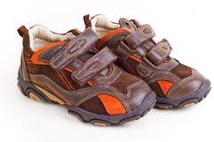 chaussures d'enfant Photographie stock
