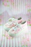 chaussures d'enfant Photographie stock libre de droits