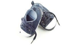 chaussures d'enfant en bas âge de garçon Photo stock
