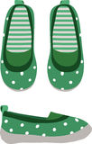 Chaussures d'enfants Illustration Stock