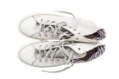 Chaussures d'espadrille Images libres de droits