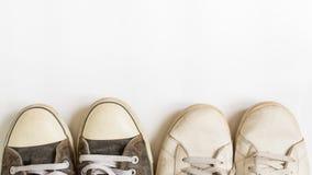 Chaussures d'espadrille Image libre de droits