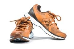 Chaussures d'espadrille de fonctionnement et de mode Photographie stock libre de droits