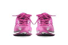 Chaussures d'espadrille de fonctionnement et de mode Photos stock