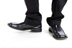 chaussures d'homme d'affaires Image libre de droits
