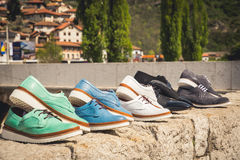 Chaussures d'hommes Photo stock