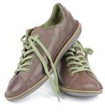 Chaussures d'hommes de Brown Image stock